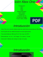 Presentación Trabajo Sistemas Informáticos - XBOX ONE