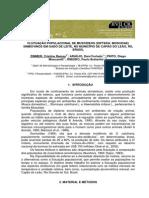 FLUTUAÇÃO POPULACIONAL DE MUSCÍDEOS