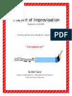 Bob Taylor the Art of Improvisation Whole 5 Volumes