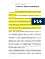 9 Proyecto Constitución -Federal- 1813 (1)