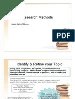 Basic Research Methods (1)