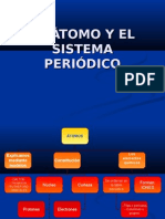 EL ÁTOMO Y EL SISTEMA PERIÓDICO