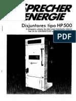 Disjuntores HP 500