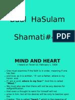 Baal  HaSulam - Shamati#44