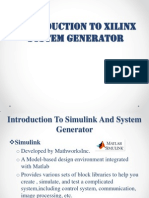 Introduction to Xilinx System Generator
