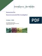 Geotechnical & Geoenvironmental Site Investigation