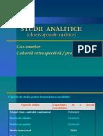 Curs 2 - Studii Analitice Observationale - 2013-2014