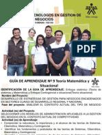 GUIA #9 Teoria Matematica y Situacional