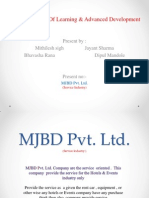 Mjbd Pvt. Ltd.