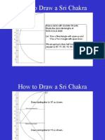 How to Draw Sri Chakra