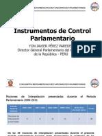 01 Instrumentos Control Parlamentario Dr Yon Perez