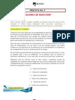 practica 3FISICOQUIMICA(CALORES DE REACCION)