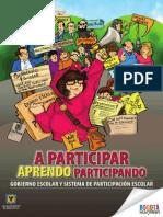 Cartilla Participación SED