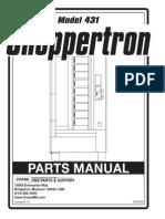 431 Shoppertron Parts Manual