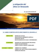 Adaptacion y Mitigacion del Cambio Climatico en Venezuela.pptx