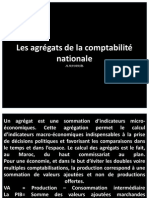 Les agrégats de la comptabilité nationale