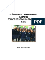 Guia de Apoyo Presupuestal Para Los Fse - 2012