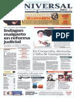 GCPRESS Portadas Medios Nacionales Lun 17 Feb 2014