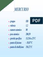 Intossicazione da Mercurio
