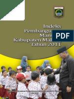 IPM Kabupaten Malang 2012
