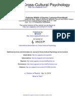 Journal of Cross Cultural Psychology 2010 Hofstede 336 52