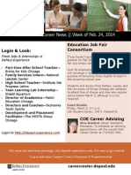 COE Hot Jobs and Career Events 2/24