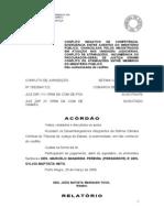 ACÓRDÃO CONFLITO NEGATIVO DE ATRIBUIÇÃO - NAO DE COMPETÊNCIA - MUITO BOM - LER