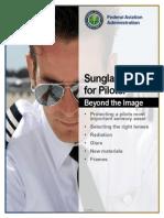 FAA Sunglasses Safety Brochure