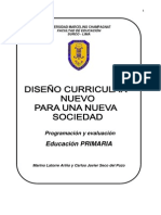 programación y evaluacion curricular