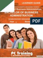 Human Resource Management 611 (Bookmarked)