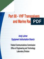 VHF Transmitters