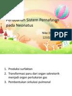 Perubahan Sistem Pernafasan Pada Neonatus