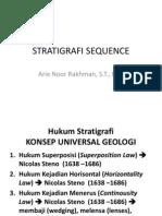 Stratigrafi Sequence
