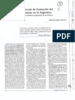 Davini - El currículo de la formación del magisterio en la Argentina