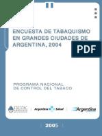 Encuesta Tabaquismo Argentina 2004