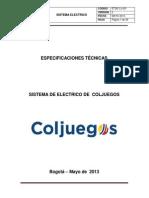 ESPECIFICACIONES ELECTRICAS_IP3