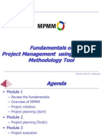 Fundamentals of MPMM PM Methodology Software