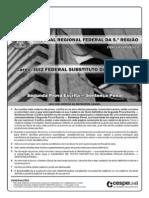 Trf Segunda Prova Escrita Penal 7-8-2011