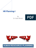 HR Planning I