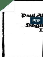 Althaus - Grundriss Der Dogmatik
