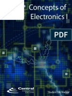 Concepts of Electronics I - Student Lab Manual