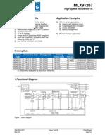 MLX91207 Datasheet April 2012 v16