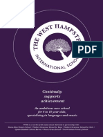 Prospectus for The West Hampstead International School