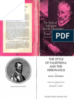 Jeppessen.the Style of Palestrina and the Dissonance