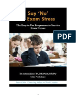 Say 'No' to Exam Stress