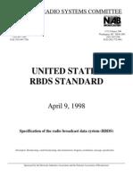 RBDS Standard