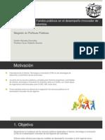 Incidencia de los recursos públicos en innovación regional en Colombia.