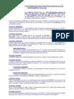 Acordo Coletivo Escala de Revezamento 12x24