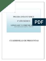 ENSAYO SIMCE El Asno Atrapado (Ochoa)