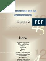 Elementos de la estadística